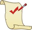 Postcode checklist