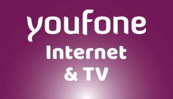 Youfone TV levert nu ook internet